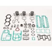Powerhead Rebuild Complete Kit - Force 70hp 1999, 90hp 95-99 (Top Guided)