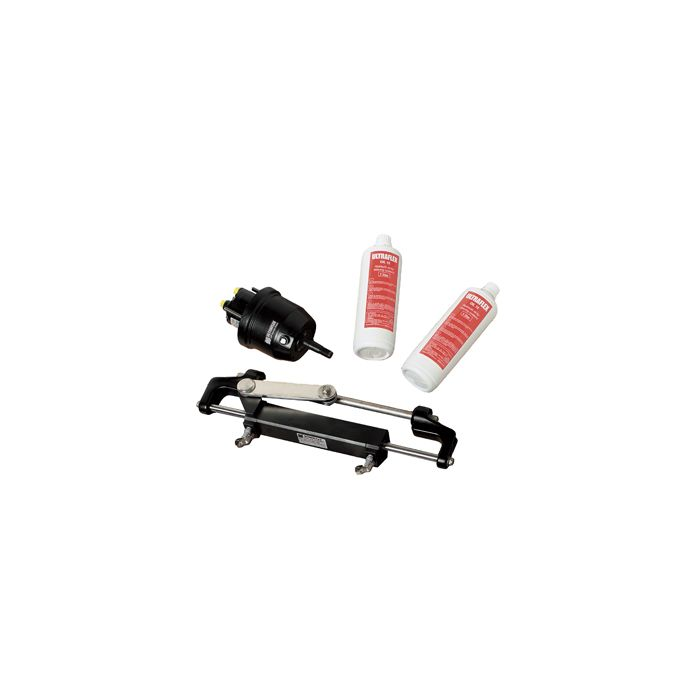 Front Mount Outboard Steering System