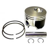 Piston Kit, Cast - Johnson Evinrude 115-200hp Etec