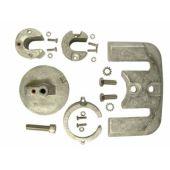 Anode Kit, Aluminum - Mercruiser Bravo I