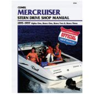 Mercruiser Sterndrive Service Manual-Alpha, Bravo 1,2,3 95-97