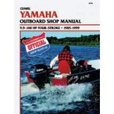 Yamaha Service Manual 9.9-100 HP Four Stroke 1985-99