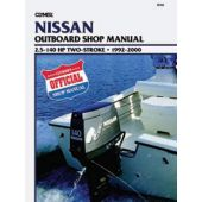 Nissan Service Manual 2.5-140 HP 92-00