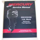 Mercury Service Manual 200-250hp 3.0L EFI 02-up