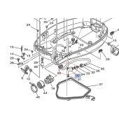 Flush Adapter - Yamaha F80-F115